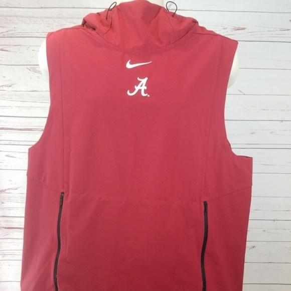 b8d5827dfc0 Nike Jackets & Coats | Alpha Fly Alabama Large Vest Hoodie Jacket ...